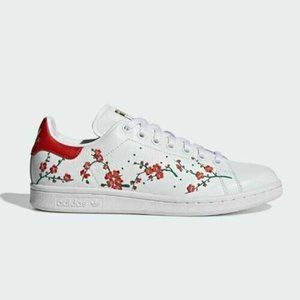 Adidas Originals Women's Floral Stan Smith Shoes